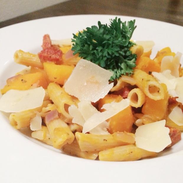 pasta-pompoen-chorizo-1