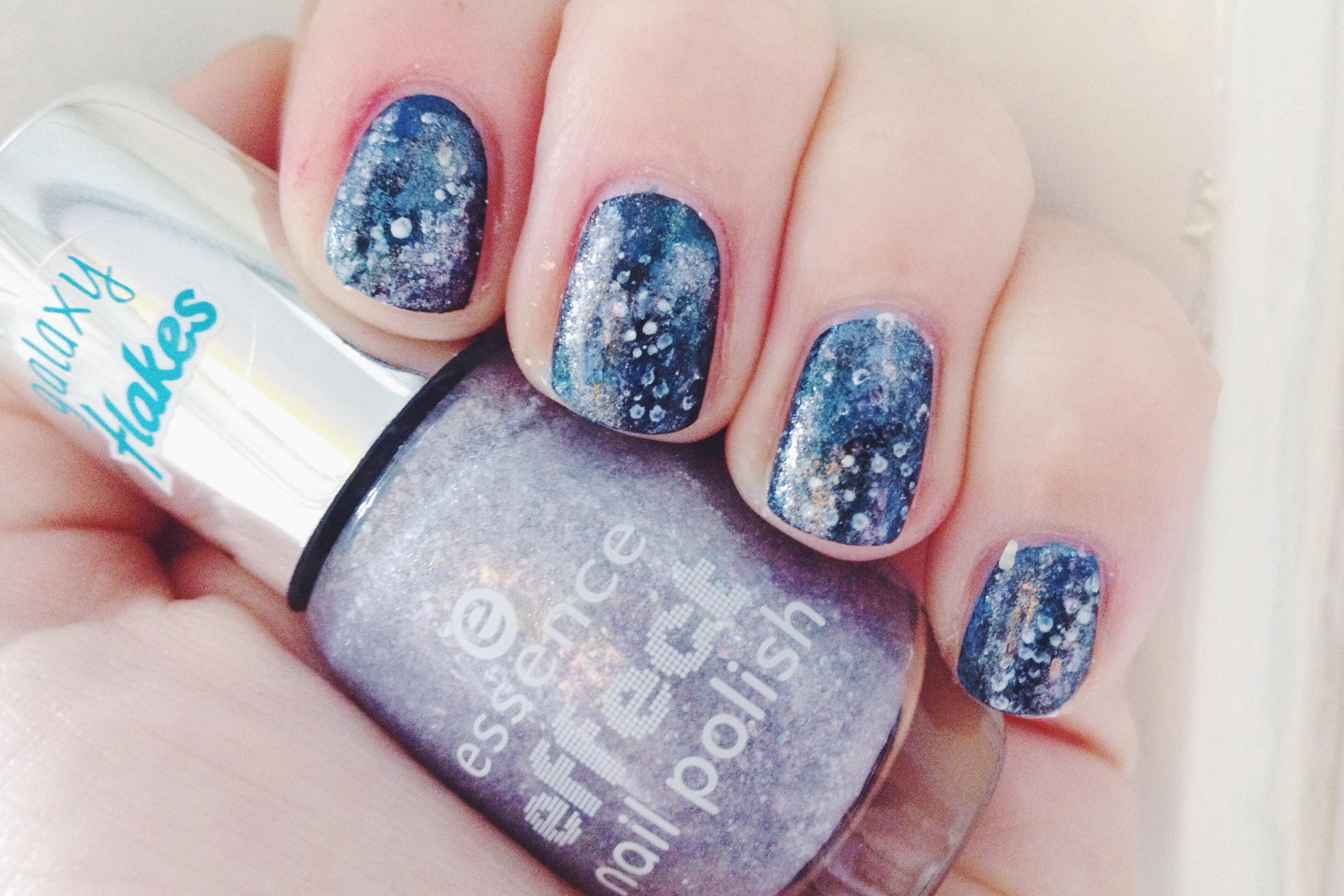 Trend Galaxy Nail Art Hoefsie