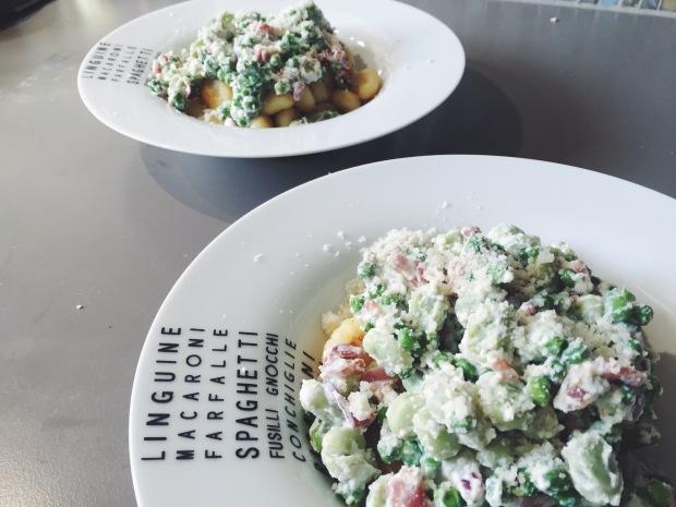 Gnocchi-Tuinbonen-Erwten